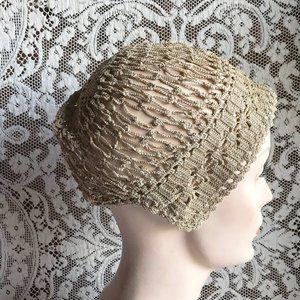 Antique Women's Crocheted Cap